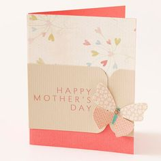 Butterfly Mother's Day Card from BHG