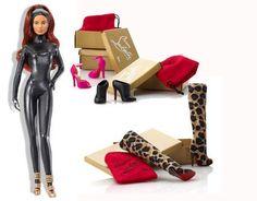 Christian Louboutin makes Cat Burglar Barbie >