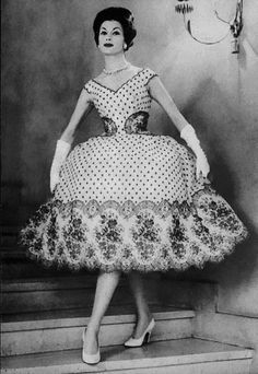 Jacques Heim Dress <3 1959