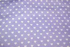 NB 1264-043 Katoen kleine hartjes lila