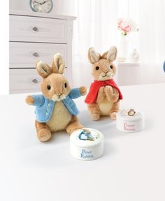Buy this Beatrix Potter Flopsy Trinket Box & Soft Toy Gift Set from the official site. If you are looking for a nursery g