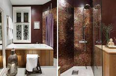 Gå for en eksklusiv styling med nye,ubrukte håndklær på badet.