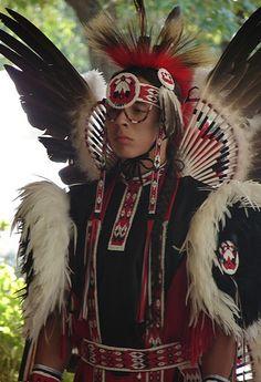 Native American Dancer, via Flickr.