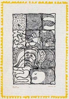 Gravure - Pierre Alechinsky - Pleine page / grandes marges Museum Of Modern Art, Museum Of Fine Arts, Art Cobra, Art Informel, Tachisme, Art Pierre, Catalogue Raisonne, Color Pencil Art, Art Graphique