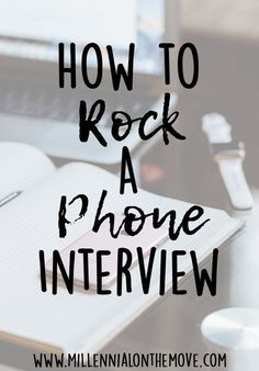 Career infographic & Advice How to Rock a Phone Interview - Millennial on the Move. Image Description How to Rock a Phone Interview - Millennial on the Interview Skills, Job Interview Questions, Job Interview Tips, Interview Preparation, Interview Answers, Interview Process, Job Resume, Resume Tips, Resume Help