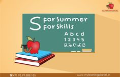 'S' for #Summer 'S' for #Skills Improve your skills and make the most of the summer #vacations. My Learning Planet presents Summer camp from 1st June 2015 to 30th June 2015. It will have - Japanese Language Club - English Language Club - Mathematics Club Register today and be experience the exciting way of learning with FUN. Visit www.mylearningplanet.in or call 9899888185 #SummerCamp #MyLearningPlanet