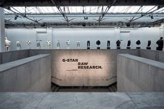 G-Star RAW exhibition by Aitor Throup Paris  France