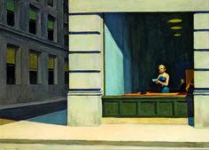 Hopper-New-York Office, 1962