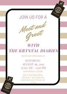 The Krystal Diaries Meet & Greet with Vera Bradley