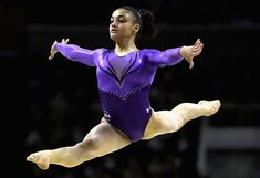 At 16 years old, Laurie Hernandez has already swept the Olympic gymnastics competition with the Final Five and landed a spot on ABC's coveted dance competition Team Usa Gymnastics, Gymnastics Competition, Gymnastics Posters, Gymnastics Pictures, Artistic Gymnastics, Olympic Gymnastics, Olympic Team, Gymnastics Girls, Gymnastics Leotards