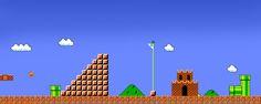 [1366x768 px] HD Desktop Wallpaper : Mario Dual Bros Castle Flag Desktop Free Wallpaper