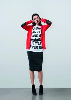 http://www.gatrimon.com/eshop/fr/ Sweater : MARLON Tee-shirt : LUK Skirt : MOSCOU