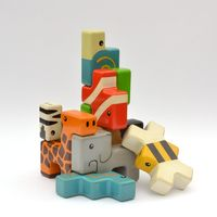 Dan Nguyen is raising funds for Animal Stackers - A New Kind of Building Block on Kickstarter! Wooden animal-shaped building blocks made for boys and girls. A simple solution that encourages children to play together. Toys For Boys, Kids Toys, Tetris, Stacking Toys, Stacking Blocks, Lego, Wood Animal, Wood Toys, Kids And Parenting