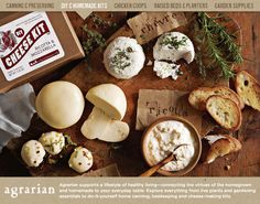 Shop diy cheese-making kits from Williams Sonoma. Our expertly crafted collections offer a wide of range of cooking tools and kitchen appliances, including a variety of diy cheese-making kits. Mozzarella, Food Styling, Charcuterie, Kombucha How To Make, Gastro, Homemade Cheese, Homemade Food, Diy Food, Cheese Party