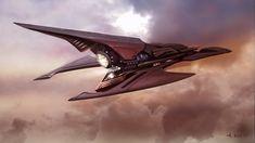 Malekith Ship Concept, Andrew Kim on ArtStation at https://www.artstation.com/artwork/KEav4