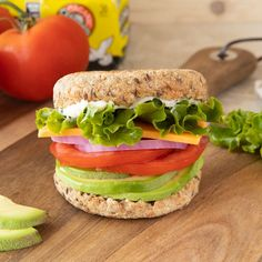 Enjoy a sandwich with added benefits! Our Ezekiel 4:9 Flax Sprouted Whole Grain Bread has 10 grams of plant-based protein per 2 slices. Eat Healthy, Healthy Life, Healthy Living, Sprouted Whole Grain Bread, Flourless Bread, Wheat Free Bread, Ezekiel Bread, Healthy Sandwiches, Plant Based Protein