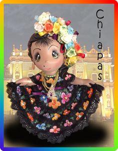 Muñecas Regionales Tiliches Manualidades Web