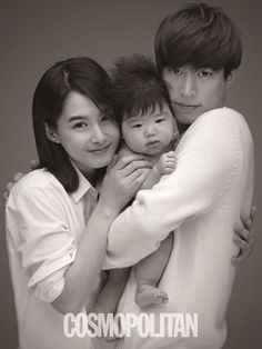 "Tablo ♡ Epik High and Kang Hye Jung --- Cosmopolitan Korea is taking part in the of Cho Sei Hyun's domestic adoption campaign ""Letters From Angels"". Kang Hye Jung, Baek Seung Jo, Ki Tae Young, Tablo Epik High, Superman Cast, Superman Kids, Korean Adoption, Marie Claire, Lee Haru"