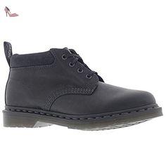 Dr.Martens Mens Norris Black Leather Shoes 46 EU - Chaussures dr martens (*Partner-Link)