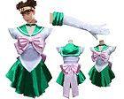 s Anime Jolie Soldier Sailor Moon Sailor Jupiter Japonais Anime Cosplay Costume femme halloween party Toute Taille Sailor Moon Cosplay, Sailor Jupiter Costume, Sailor Moon Kostüm, Sailor Neptune, Sailor Mars, Cosplay Dress, Cosplay Outfits, Cosplay Costumes, Miku Cosplay
