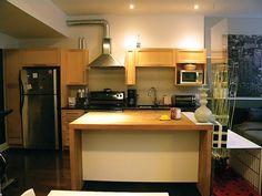 by Yuyu & Gigi Design Loft Kitchen, Modern Loft, Residential Interior Design, Open Concept, Future House, Furniture, Home Decor, Homemade Home Decor, Home Furnishings