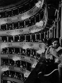 Alfred Eisenstaedt Audience at La Scala Opera House Italy, 1934