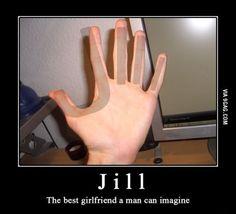 Meet my girlfriend Jill, Shes naked.