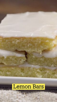 Lemon Desserts, Lemon Recipes, Just Desserts, Sweet Recipes, Delicious Desserts, Yummy Food, Fun Baking Recipes, Cookie Recipes, Dessert Recipes