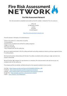 Fire Risk Assessment Network  Newspaper
