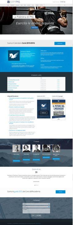 Sito web dell'Accademia Italiana di #PNL #WebDesign #WordPress