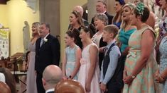 """An Irish bride and groom in County Monaghan were brought to tears in Aug 2019 when their wedding guests surprised them with a stunning cover of """"Stand By Me."""" Dance Floor Wedding, Wedding Songs, Wedding Ceremony, Lord Of The Dance, Surprise Wedding, Irish Wedding, Irish Dance, Stand By Me, Newlyweds"""
