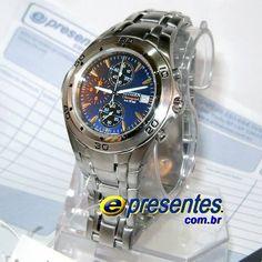 AN3347-59H Relógio Citizen Masculino Aço Cronógrafo Analógico Relogio Original Citizen voce encontra na E-Presentes.com.br Tudo em até 12x sem juros.