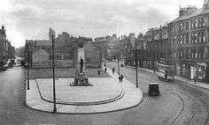 Rutherglen War Memorial in original setting Old Photos, Vintage Photos, Main Street, Street View, Royal Charter, Glasgow Scotland, 14th Century, New Zealand, Home And Family