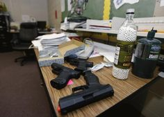 Teachers in Arkansas to Carry Concealed Handguns at School