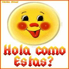 ¡Hola, Como Estás...! Gif Animado