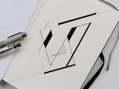Geometric Drawing, Geometric Art, Geometric Designs, Section Drawing Architecture, Shape Collage, Composition Art, Desenho Tattoo, Journal Design, Grafik Design