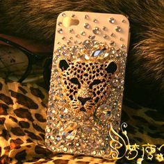 nice Ambition Leopard Handmade Hard Case For Iphone 4/4s    fancymall - Accessories on ArtFire