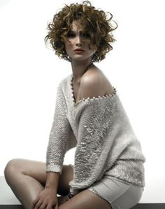 Lots of celebrities these days sport short curly hair styles, but some of them really stand out. When we think of curly short hair, the image of AnnaLynne Curly Shag Haircut, Short Curly Hairstyles For Women, Short Haircuts With Bangs, Haircuts For Wavy Hair, Curly Hair Cuts, Pretty Hairstyles, Short Hair Cuts, Girl Hairstyles, Curly Hair Styles