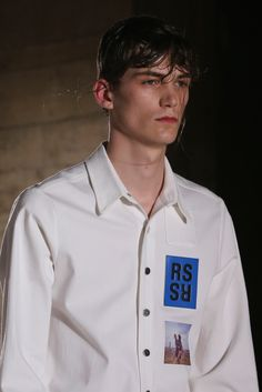 Raf Simons | Spring 2015 Menswear #print #photographic