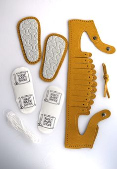 KARO model Yellow page | First Baby Shoes