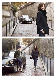 INES DE LA FRESSANGE PARIS - THE BLOG - Ines x Uniqlo Fall-Winter 2017