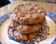 Chocolate Hazelnut Oatmeal Cookies
