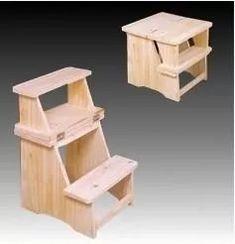 C mo construir una escalera de madera paso a paso - Libreros de madera modernos ...