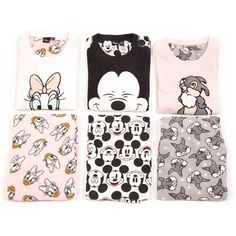 """We'd rather in be in bed!  Pjs €13/$13 #Primark #Pjs #Thumper #MickeyMouse #Daisy"""