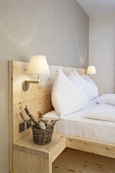 Romantik Hotel Muottas Muragl in the Swiss Alps Hotel Room Design, Bedroom Bed Design, Home Bedroom, Diy Bedroom Decor, Home Decor, Bedrooms, Diy King Bed Frame, Bed Frame With Storage, Headboards For Beds