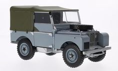 Land Rover Series 1, grau-blau , 1948, Modellauto, Fertigmodell, Minichamps 1:18: Minichamps: Amazon.co.uk: Toys & Games