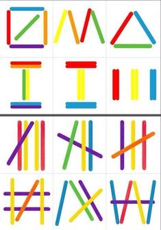 Polo sticks More – Today Pin The Montessori Geometric SticksPopsicle Sticks Shapes – Building Shapes with…Popsicle Sticks Shapes – Formen bauen mit…Hands-On Chinese Learning: Counting with Craft Sticks Preschool Learning Activities, Preschool Worksheets, Infant Activities, Preschool Activities, Kids Learning, Visual Motor Activities, Visual Perceptual Activities, Dinosaur Activities, Busy Boxes