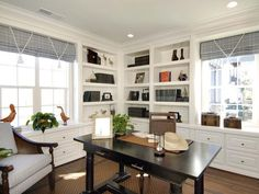 White Home Office : Design Line Interiors : Home Offices : Pro Galleries : HGTV Remodels#/id-5197/style/Transitional