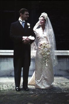 Ion and Elisabeth Ratiu on their wedding day, 1945