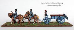 BAV 29 Four horse caisson, Perry Miniatures
